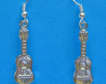 Ukulele Earrings