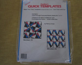 June Tailor Quilting Pattern And Sewing Weights Blue Vinyl