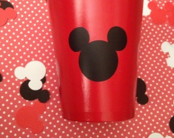 Mickey Mouse sticker cut outs