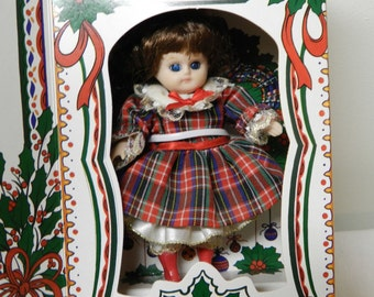 Marie Osmond Christmas Greeting Card Doll 1993
