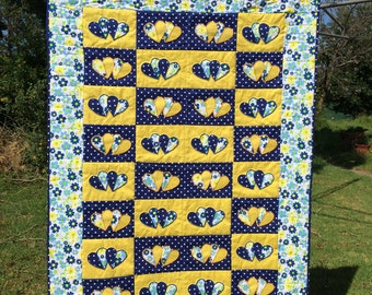 Little Sweethearts Baby Quilt