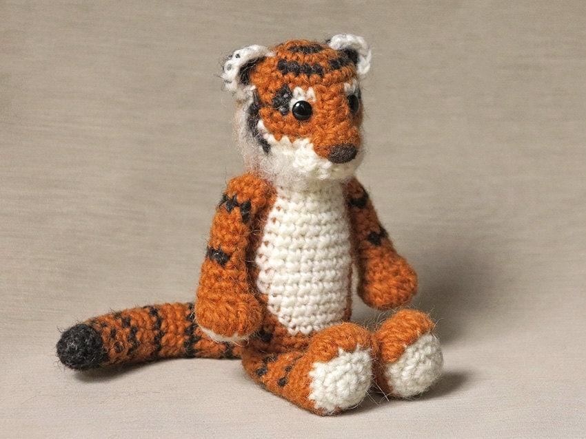 Big Cat Amigurumi : Amigurumi crochet tiger pattern