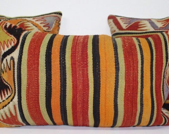 KLP000035/36/37Three peices set hand made  vintage kilim pillow,throw pillow