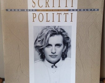 Scritti Politti Perfect Way promotional single LP record eighties music vintage