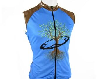Kaishingo Men's Sleeveless Cycling Jersey