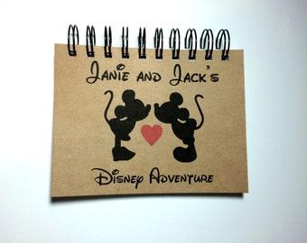Disney Autograph Book, Disney Honeymoon, Inspired, Disney Adventure, Mickey and Minnie, Personalized, Notebook, Disney Vacation, Disneymoon