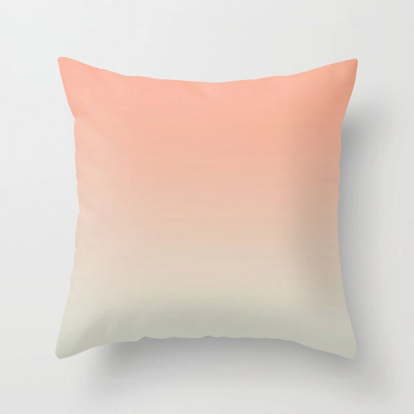 Soft Decorative Throw Pillows : Decorative throw pillow soft pink beige pillow modern design