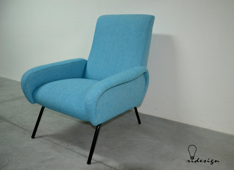 Poltrona lady design marco zanuso anni 39 50 lady armchair for Poltrona design anni 50