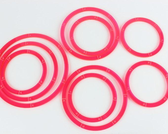 Neon Pink - War Machine Blast/Deviation Ring Pack