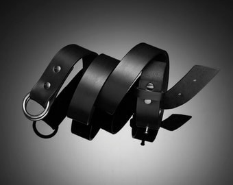 Design by George Ring Belt Black
