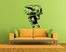 Link Legend of zelda vinyl wall art decal sticker 002
