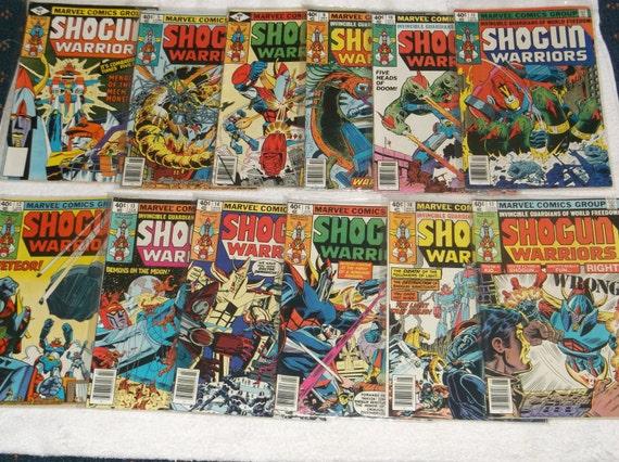 Shogun Warriors 5 Marvel 1979
