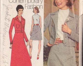Simplicity 5132 Vintage 1972  Sewing Pattern