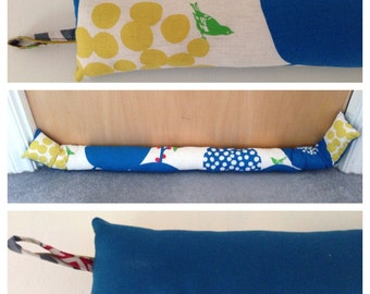 Big Berry Blue Draught Excluder
