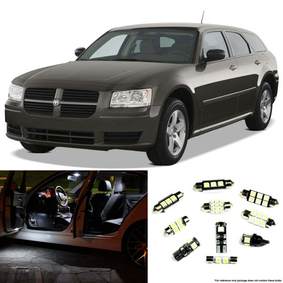 Dodge magnum 2005 2008 premium led interior lights by - Dodge magnum interior accessories ...