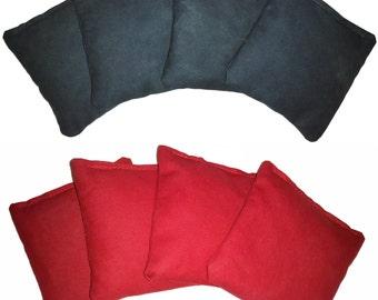 Cornhole Bags - 100% Satisfaction Guarantee - Regulation Size & Weight - (8 Bags)