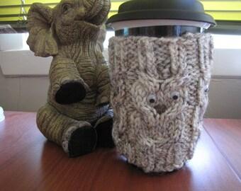 Cosy Mug OWL tone on tone