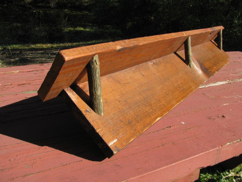 Rustic Wood Shelf Furniture Tree Branch Brackets By Debbenfarm