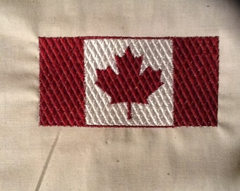 Canadian Flag  embroidery design