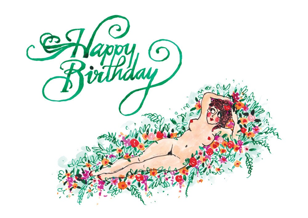 Nude Greeting Cards 49