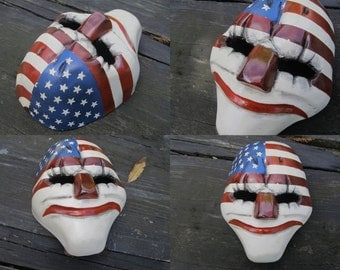 Payday2: Dallas mask replica.