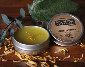 Organic Calendula Salve/ Healing Salves/ Large