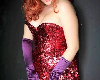SAES only one JESSICA-RABBIT-Costume
