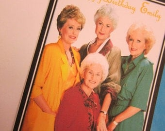 The Golden Girls Birthday Card or invitation
