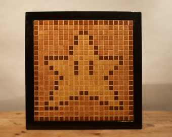 Star Pixel Wall Art