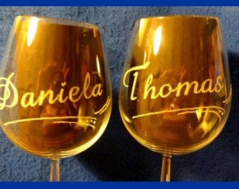 Wine glass - personalize / designed by you / customized