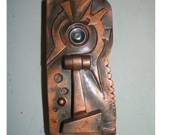 Modern Door Knocker By Fabbricreations On Etsy