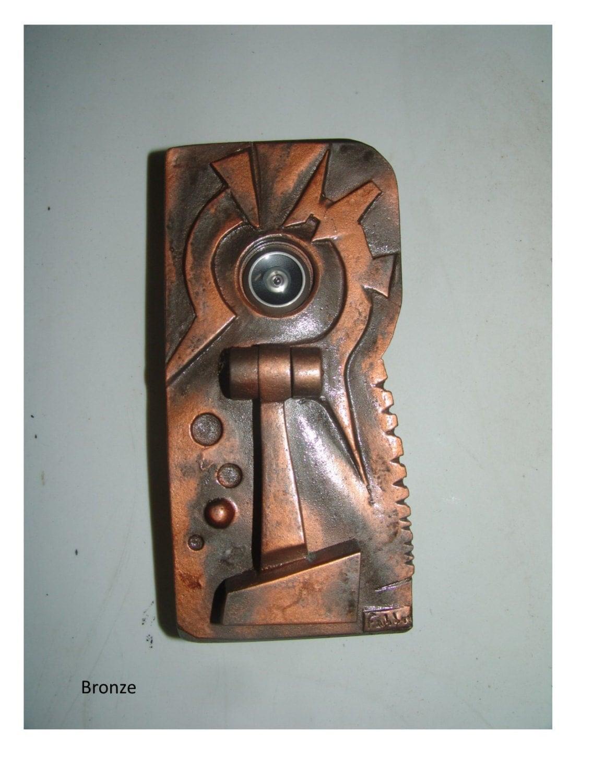 Distinguished peephole door knocker from fabbricreations on etsy studio - Peephole door knocker ...