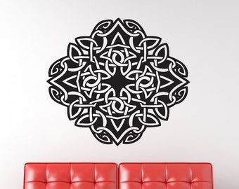 Celtic Design 2 Vinyl Wall Decal Graphic
