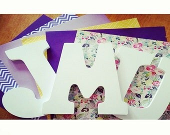 """Custom James Madison University (JMU) 9"""" Requested Wall Letters for Home, Office, or Residence Hall Decor"""