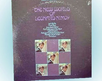 The New World of Leonard Nimoy Dot Records Vintage LP