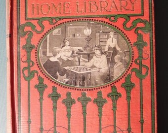 Young People's Home Library, 1910, Copyright 1903 by W E Scull