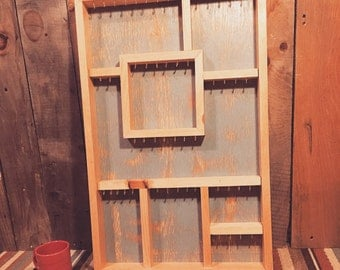 Jewelry Display Case Wooden