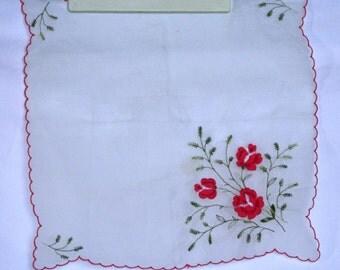 Dainty Vintage Sheer Handkerchief