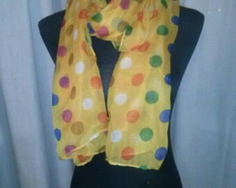 Fashion scarf bright colors, very suitable to wear on different occasions. Perfect for gay people.
