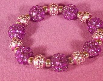 Wild Purple Bracelet