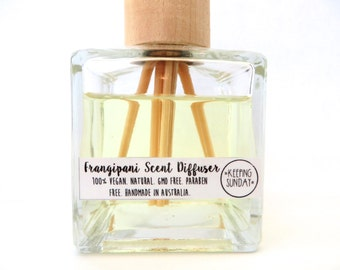 SALE Handmade Natural Reed Diffuser
