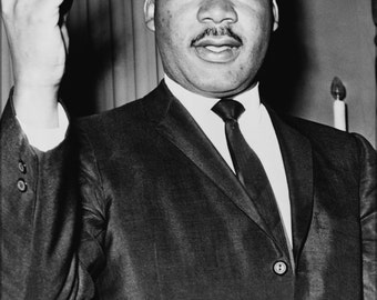24x36 Poster; Martin Luther King, Jr. 1964