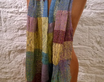 Hand Weaving Scarf