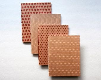 Mini Journals | Kraft Notebooks | Pocket Journals | Mini Notebooks | Memo Book | Cahiers | Red Mini Journals | Dot Notebook | Jotters