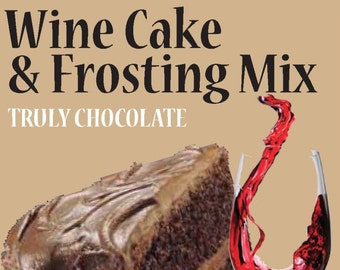 Truly Chocolate Wine Cake Mix
