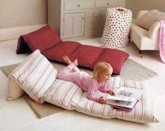 Five Pillowcase Floor Pillow