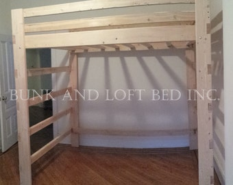 Queen size loft bed | Etsy