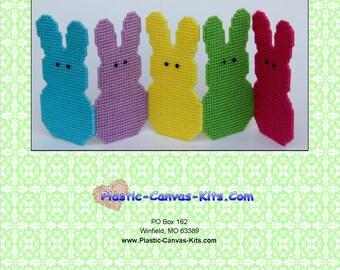 Easter Peeps Folding Screen-Plastic Canvas Pattern-PDF Download
