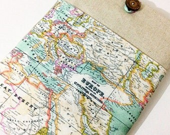 World Map, Europe Map MacBook Air Case-11 inch MacBook Air Sleeve,Chromebook Laptop Cover Padded,Laptop Sleeve 11 inch Laptop Case