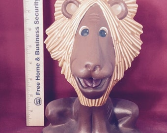 Lg Ceramic Bisque Lion-ready to paint